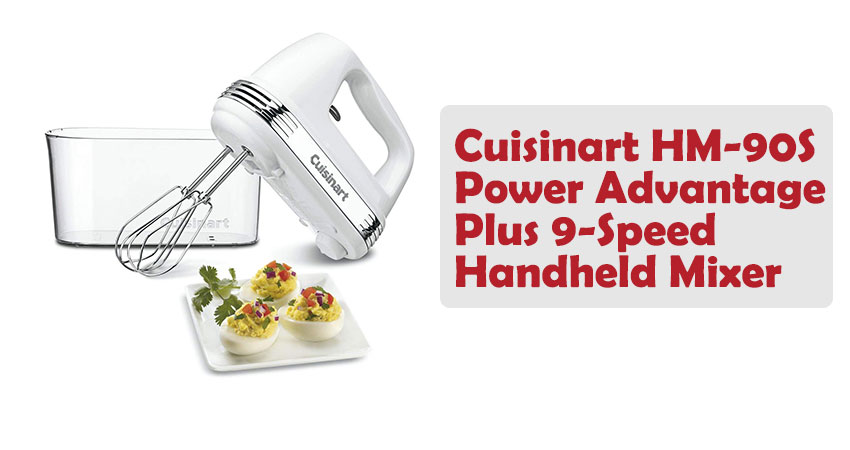 Cuisinart HM-90S Power Advantage Plus 9-Speed Handheld Mixer