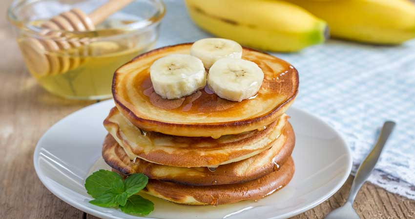 Delicious Two Ingredient Banana Pancakes